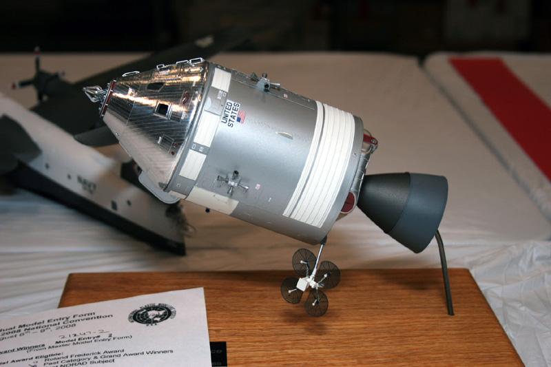 Nouvelles maquettes Revell / Aldrin Rocket Heros 2008ip10