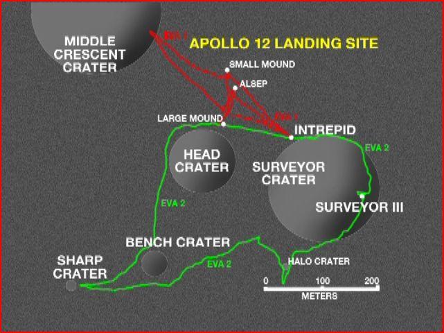 apollo 12 par LRO Captur10