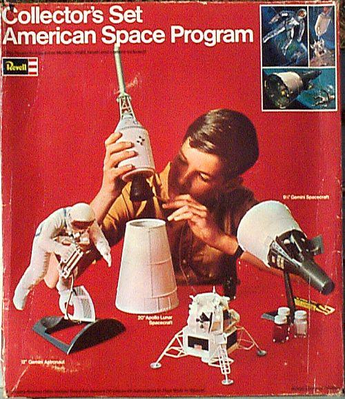 REVELL 1/8 Apollo Astronaut on the Moon Revh1810
