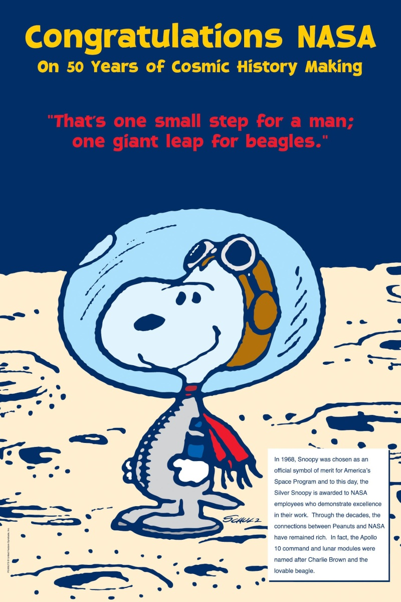 Pour les 40 ans d'Apollo 10 / Flight Journal Snoopy10