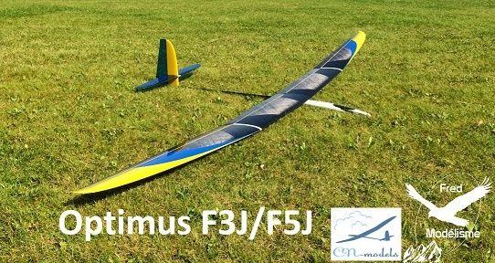 OPTIMUS F5J FRED MODELISME  Optimu10