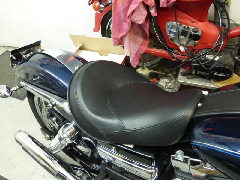 Cover de garde boue arrière recouvert de cuir ! 13041411