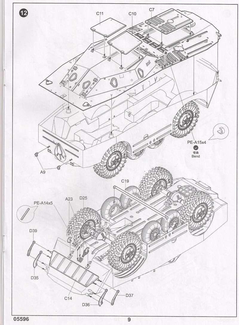 Le BRDM 1 de Trumpeter au 1/35ème 1110