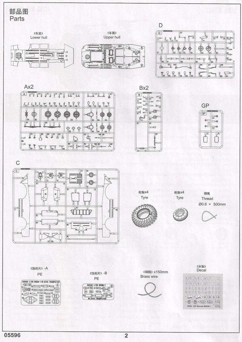Le BRDM 1 de Trumpeter au 1/35ème 410