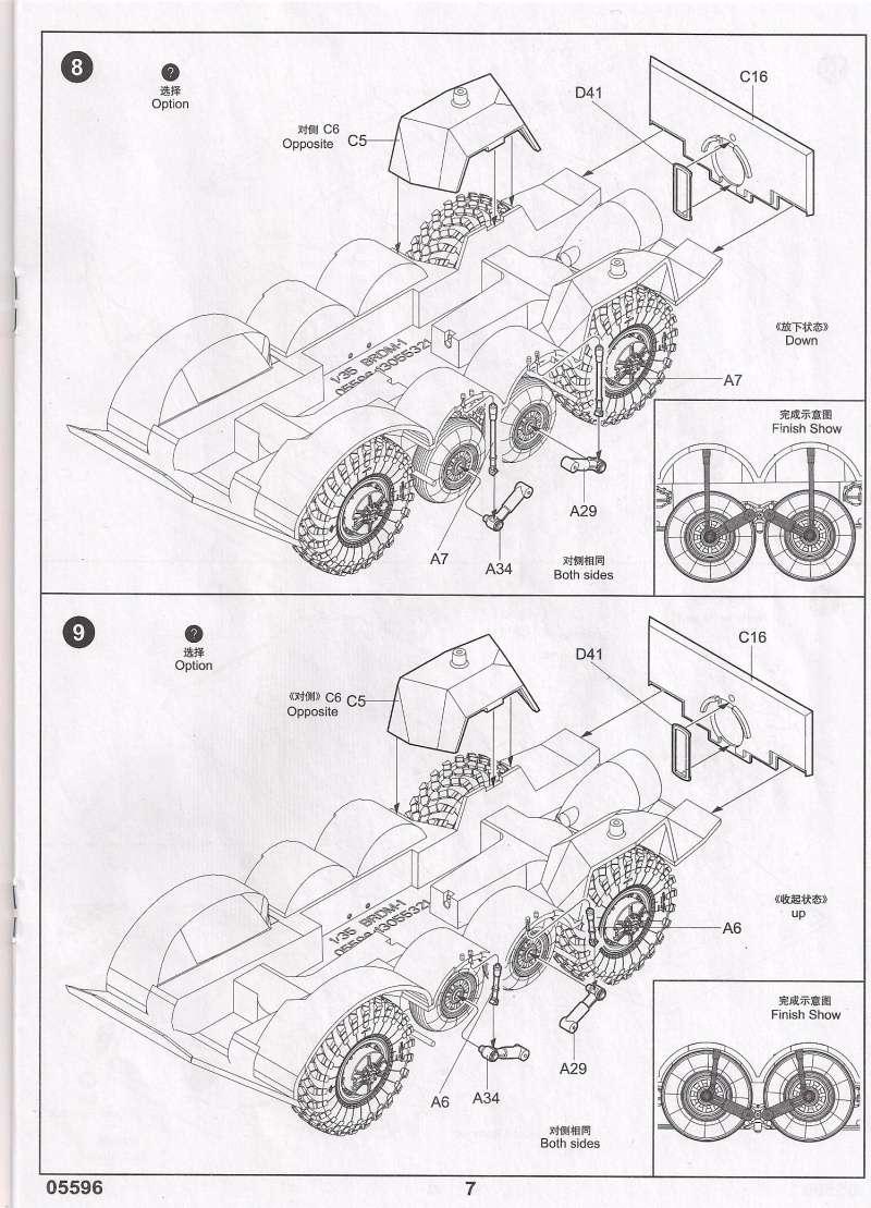 Le BRDM 1 de Trumpeter au 1/35ème 910