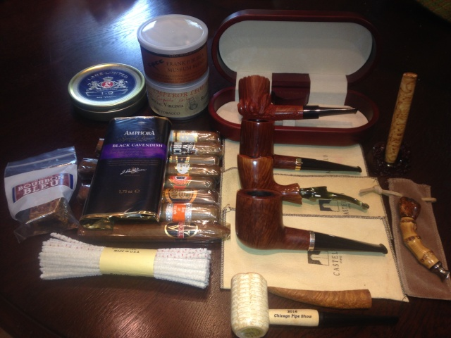 What I buy when at the Chicago Pipe & Tobacco Show Img_0213