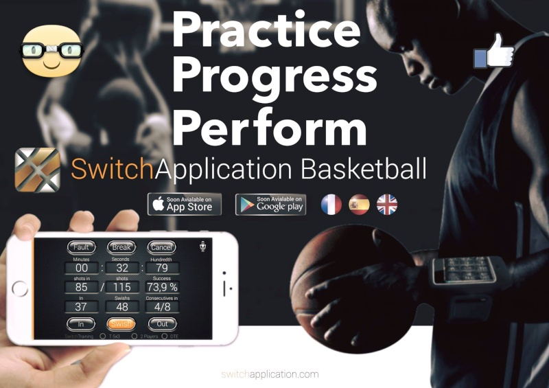 """"""" SWITCH APPLICATION BASKETBALL """" / THE # 1 SHOOTING APP in THE WORLD © Z2710"""