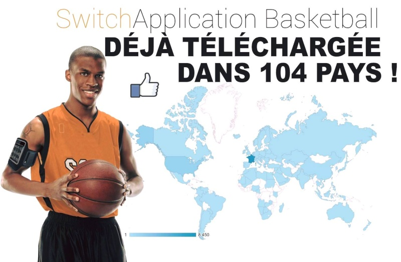 """"""" SWITCH APPLICATION BASKETBALL """" / THE # 1 SHOOTING APP in THE WORLD © Z2714"""