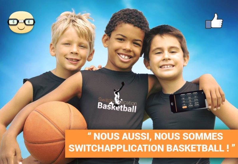 """"""" SWITCH APPLICATION BASKETBALL """" / THE # 1 SHOOTING APP in THE WORLD © Z2811"""