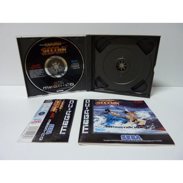 (VDS) SAMURAI SHODOWN + SPIN MEGA CD FR Samura10