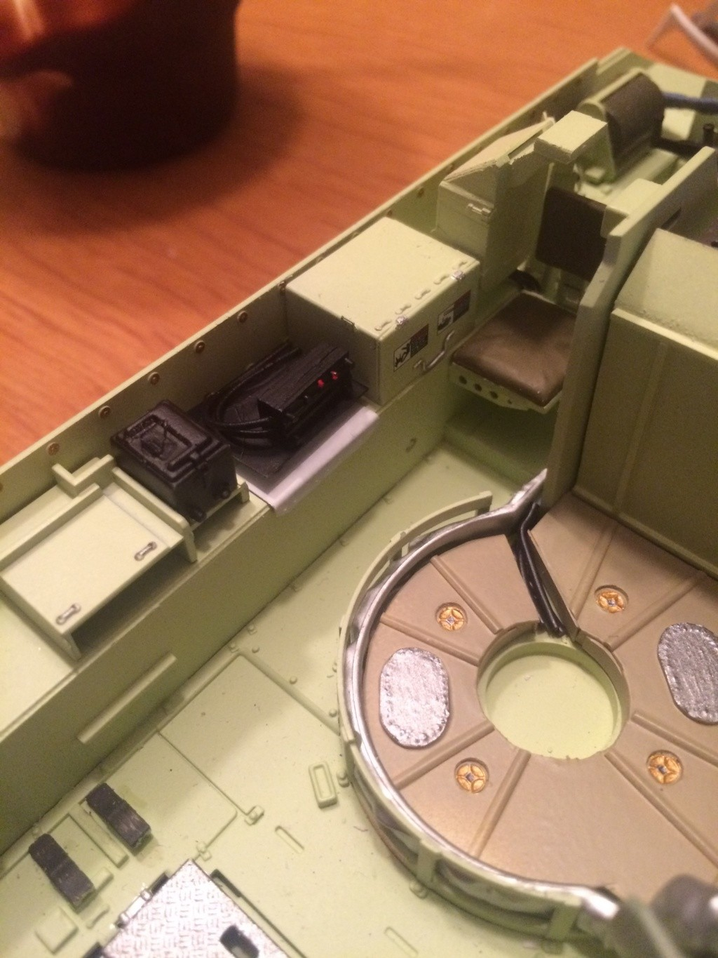 Bradley M2A3 w Busk III / US infantry fighting vehicle [Meng, 1/35] - Page 6 Img_5414