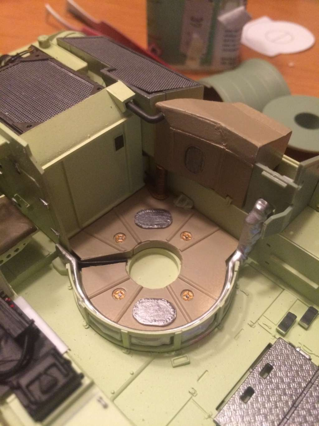 Bradley M2A3 w Busk III / US infantry fighting vehicle [Meng, 1/35] - Page 6 Img_5415