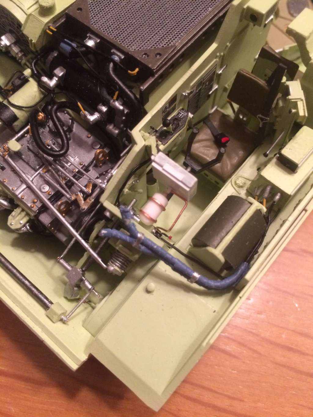Bradley M2A3 w Busk III / US infantry fighting vehicle [Meng, 1/35] - Page 6 Img_5418