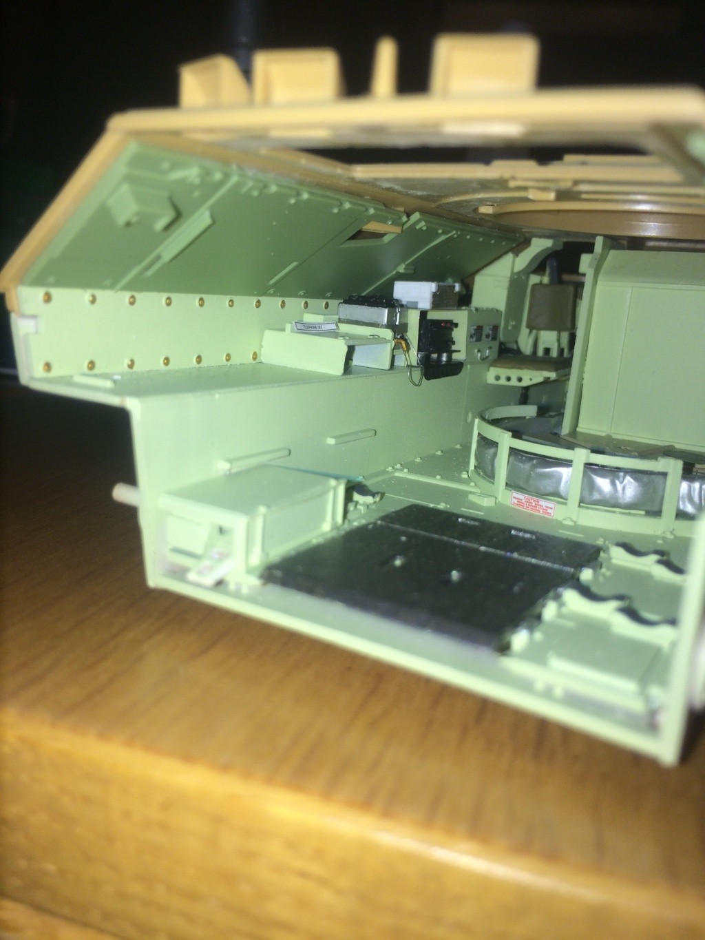 Bradley M2A3 w Busk III / US infantry fighting vehicle [Meng, 1/35] - Page 7 Img_5427