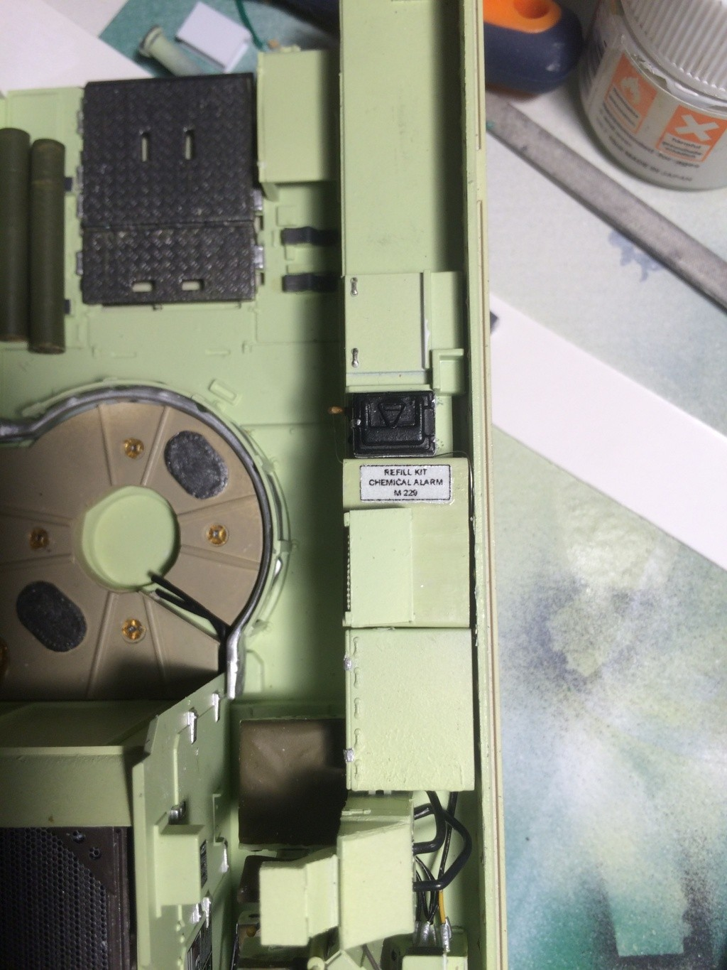 Bradley M2A3 w Busk III / US infantry fighting vehicle [Meng, 1/35] - Page 7 Img_5432