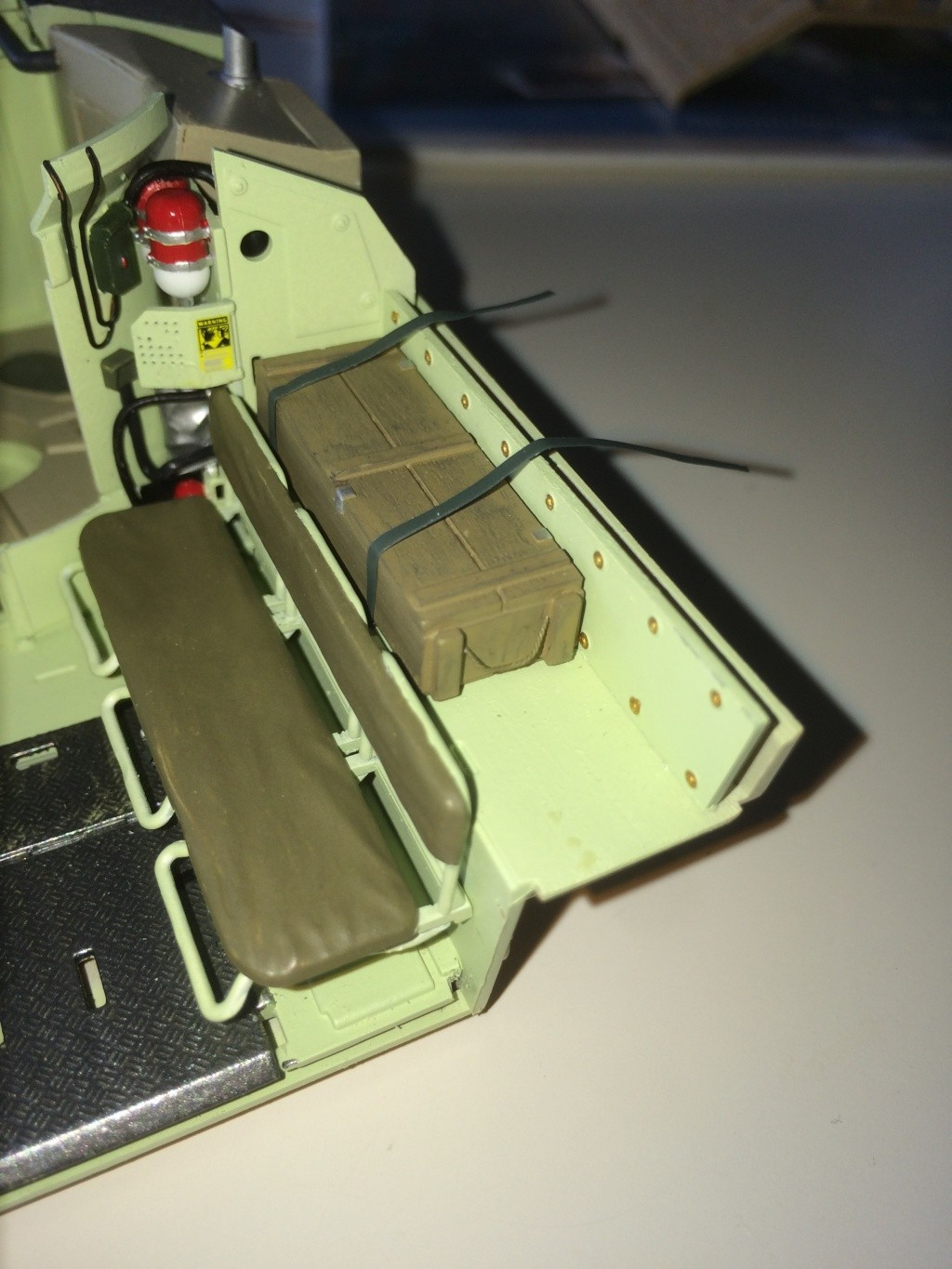 Bradley M2A3 w Busk III / US infantry fighting vehicle [Meng, 1/35] - Page 8 Img_5527