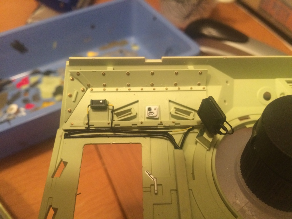 Bradley M2A3 w Busk III / US infantry fighting vehicle [Meng, 1/35] - Page 8 Img_5532