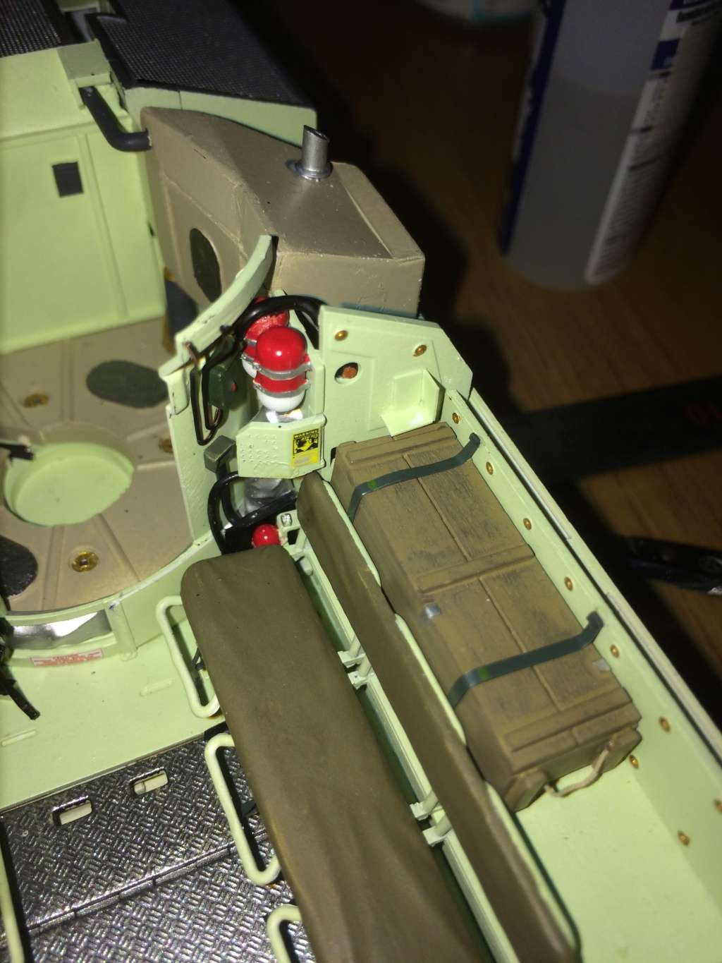 Bradley M2A3 w Busk III / US infantry fighting vehicle [Meng, 1/35] - Page 8 Img_5537