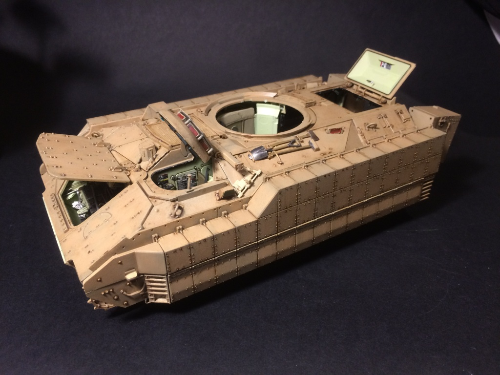 Bradley M2A3 w Busk III / US infantry fighting vehicle [Meng, 1/35] - Page 12 Img_5721