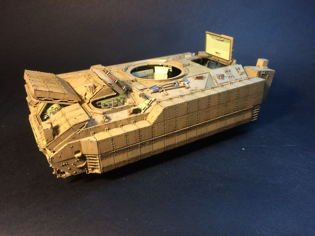 Bradley M2A3 w Busk III / US infantry fighting vehicle [Meng, 1/35] - Page 13 Img_5731