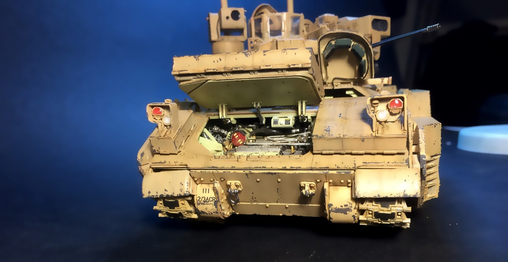 Bradley M2A3 w Busk III / US infantry fighting vehicle [Meng, 1/35] - Page 13 Img_5737