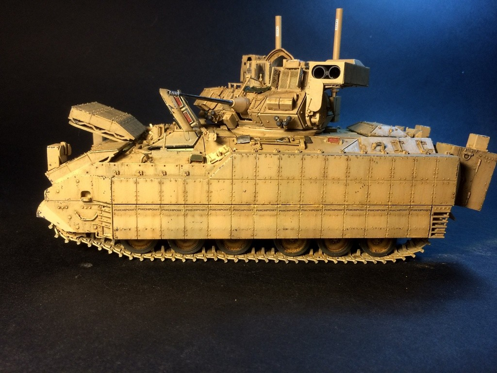 Bradley M2A3 w Busk III / US infantry fighting vehicle [Meng, 1/35] - Page 13 Img_5740