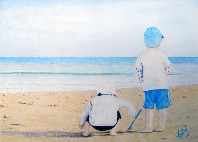 Les copains sur la plage Les_co10