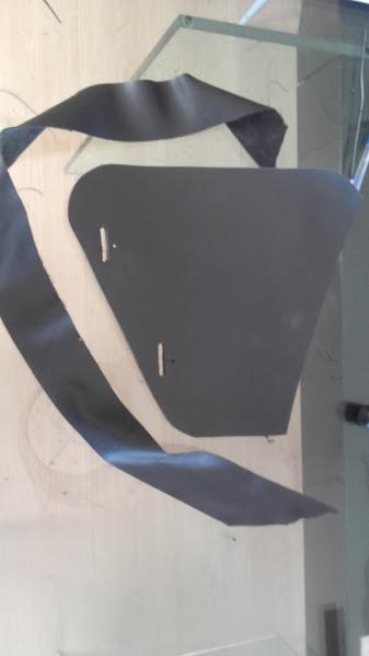 Fabrication d'une sacoche pour softail  20160426