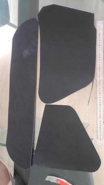 Fabrication d'une sacoche pour softail  20160427
