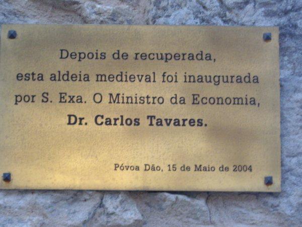 Aldea medieval recuperada de Povoa Dao en Viseu Portugal Imgp5631