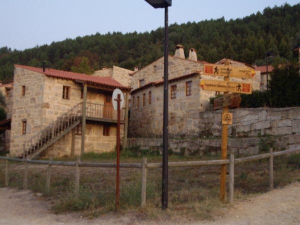 Aldea medieval recuperada de Povoa Dao en Viseu Portugal Imgp5713