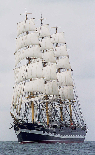 Tall Ships Atlantic Challenge 2009 En vigo Kruzen10