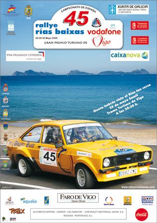 Rally Rias Baixas 2009 Portad10