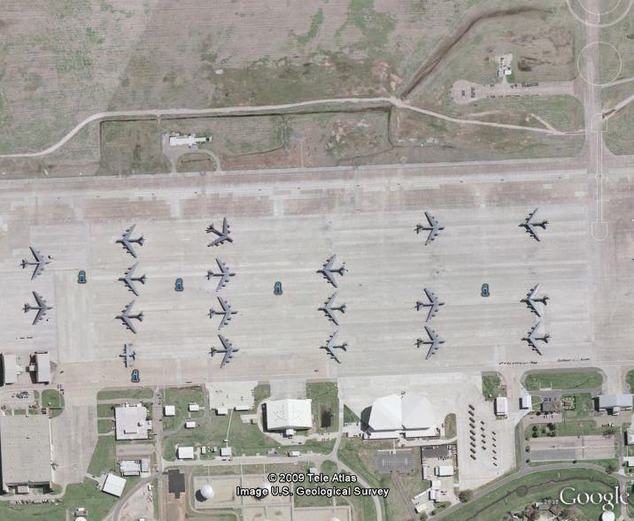 B-52 à la base aérienne de Barksdale, Louisiane - Etats-Unis Captu112