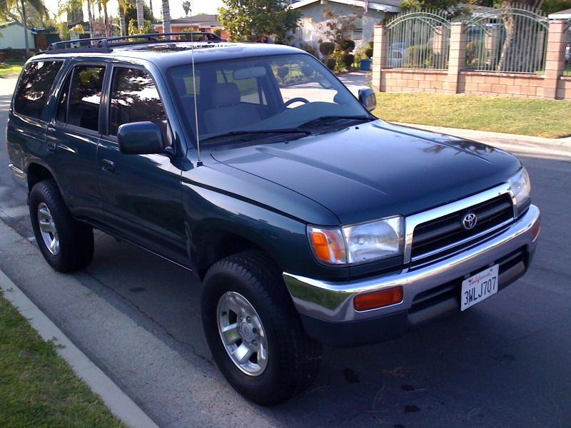 1997 TOYOTA 4RUNNER SR5 4WD SUPERCHARGED!! - $4999 Photo-10