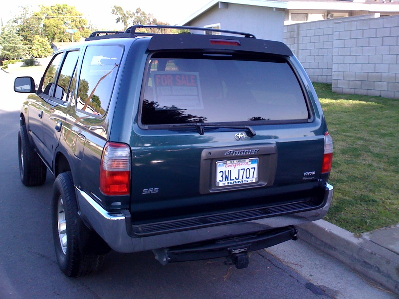 1997 TOYOTA 4RUNNER SR5 4WD SUPERCHARGED!! - $4999 Photo10