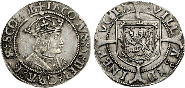 Groat d'argent de James V (1513-1542) James_11
