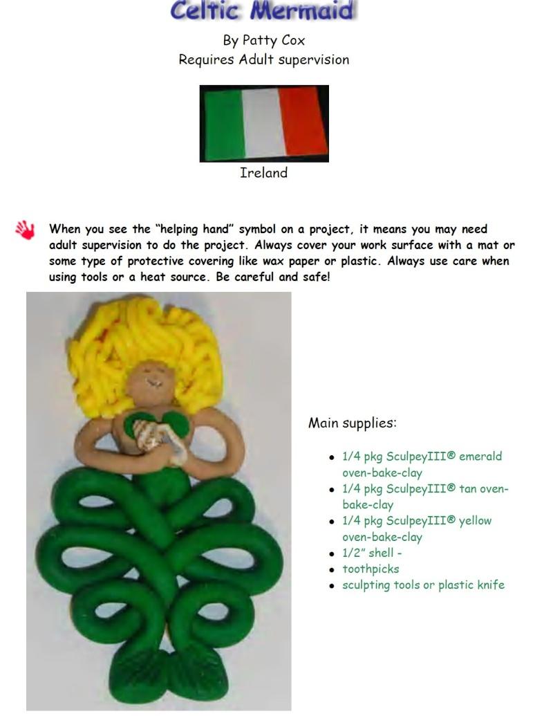 Irish Crafts for kids.... Celtic10