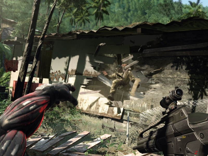 Crysis! - Best Graphics Yet! Crysis12