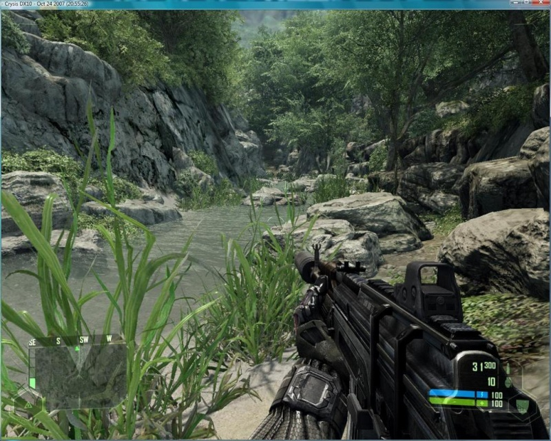 Crysis! - Best Graphics Yet! Real3j10