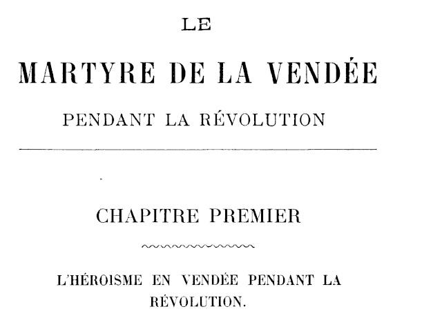 Le Martyre de la Vendée. Chapit14