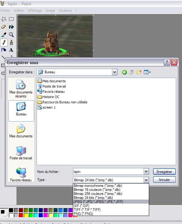 Poster une capture d'écran Screen12