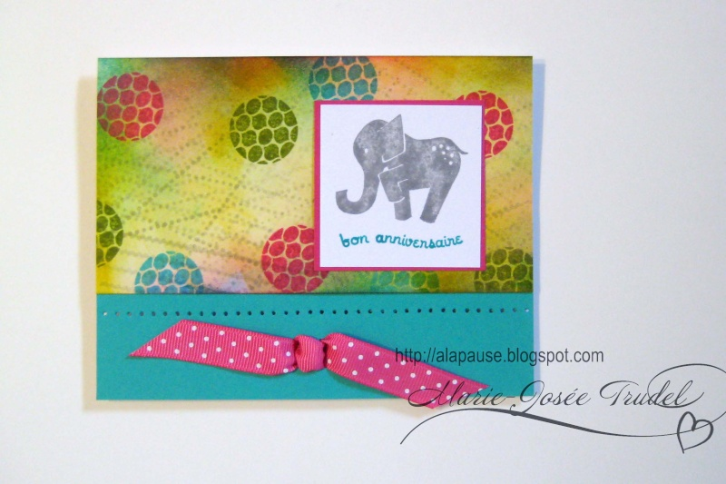7 Juillet 2009 - Animal Stories - Stampin' Up! 0116