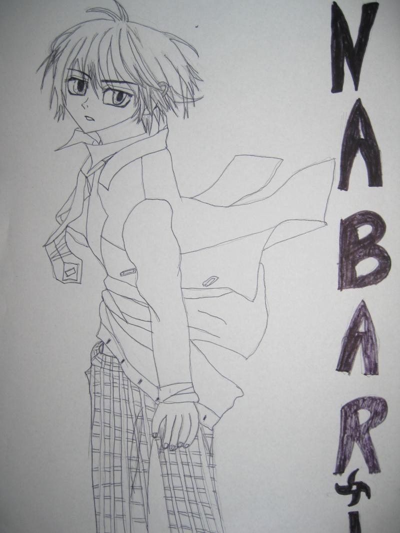petit dessin de Nabari et du fameux tsubasa reservoir chronicle ^^ Dessin13