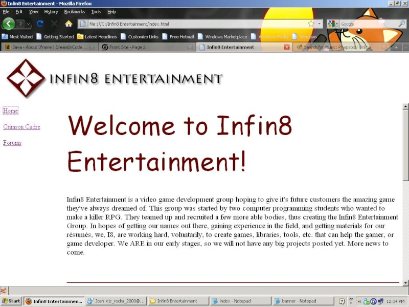 Front Site Websit10