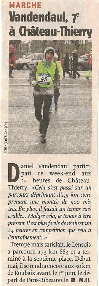 Classements  provisoire, photos vidéos,24 à Château-Thiérry 12919810