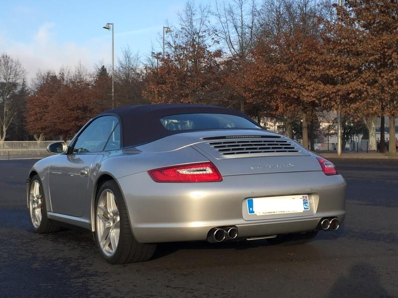 PORSCHE 997 4S Cabriolet, 39500 km, 2007, très optionnée Img_1314