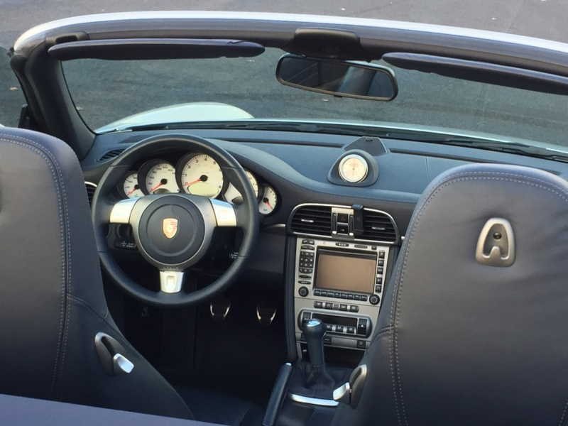 PORSCHE 997 4S Cabriolet, 39500 km, 2007, très optionnée Img_1416