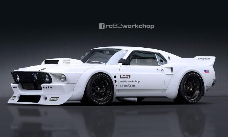 Mustang '70 modifiée Fat-bo14
