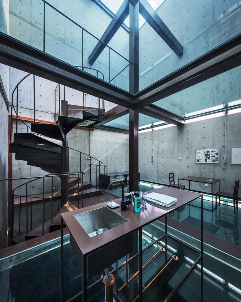 Vertical Glass House, Shangai (Chine) Interi10